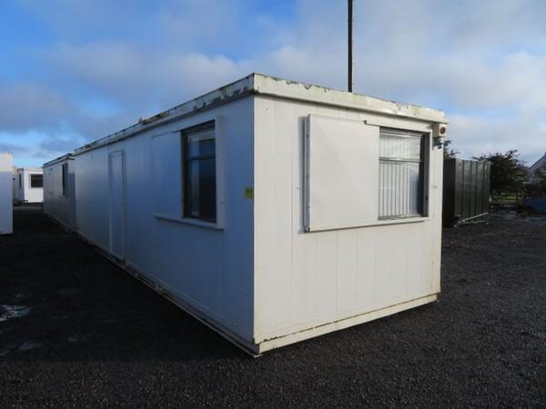 32' x 10' Anti Vandal Split Office Container Portable Building - Darlington, Co Durham