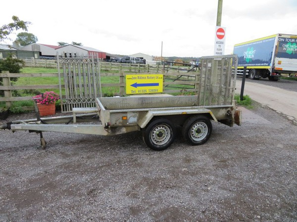 Indespension Challenger 8 x 4 Plant Trailer LED Lights - Darlington, Co Durham