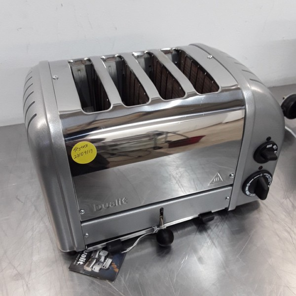 Used Dualit CD360 4 Slot Toaster
