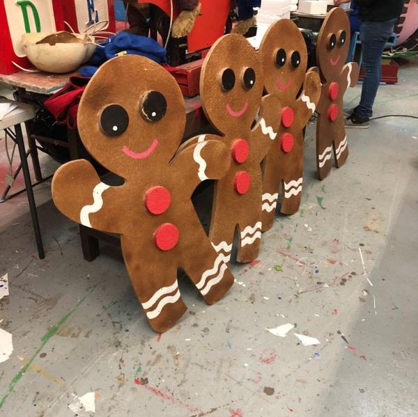 Christmas prop