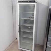 New B Grade Polar CB921 Single Glass Display Freezer	(U10016)