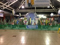 25ft Giant snow globe