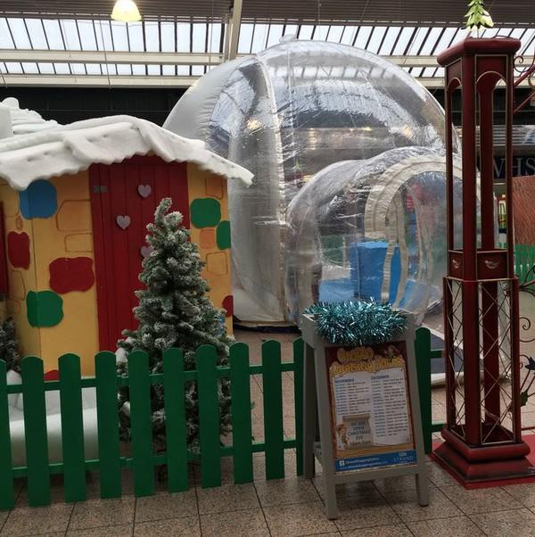 Giant Snow Globe - Custom Design - Aintree, Liverpool