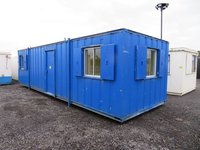 32' x 10' anti vandal split office with kitchen area portable building