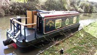 25ft Beetle Narrowboat Derbyshire