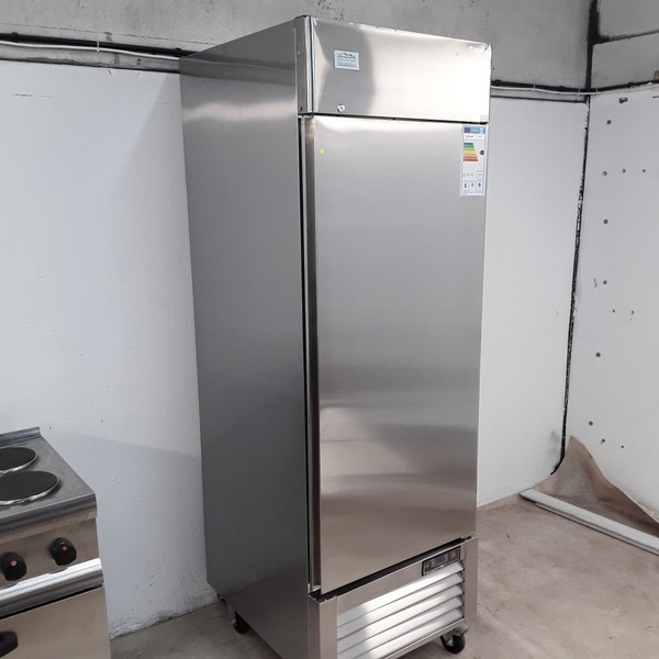 New B Grade Ice A Cool ICE8950 Stainless Single Upright Fridge (A10031) - Bridgwater, Somerset