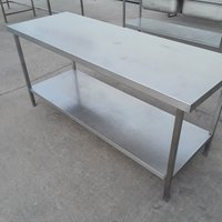 180cm Used Stainless Steel Table