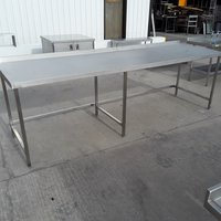 Used Stainless Steel Table (10037) - Bridgwater, Somerset