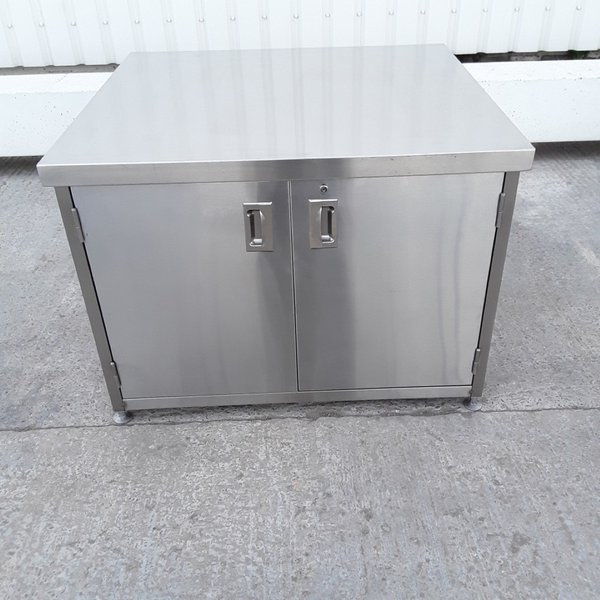 New B Grade Stainless Steel Cabinet Stand (A10036) - Bridgwater, Somerset