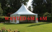 WANTED Pagoda Marquee 6m x 6m Suffolk