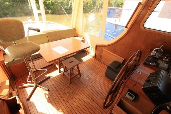 Aft cabin on Dutch Barge