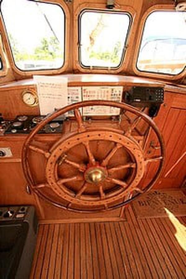 Cockpit on Barge