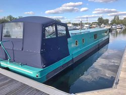 Widebeam 12.6 x 60' Project Boat Offers Welcome - Surrey