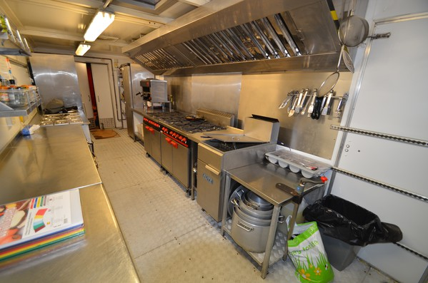 Mercedes Lorry Catering Kitchen