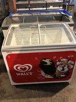 Walls Branded Glass Lid Chest Freezer- Bedford, Bedfordshire