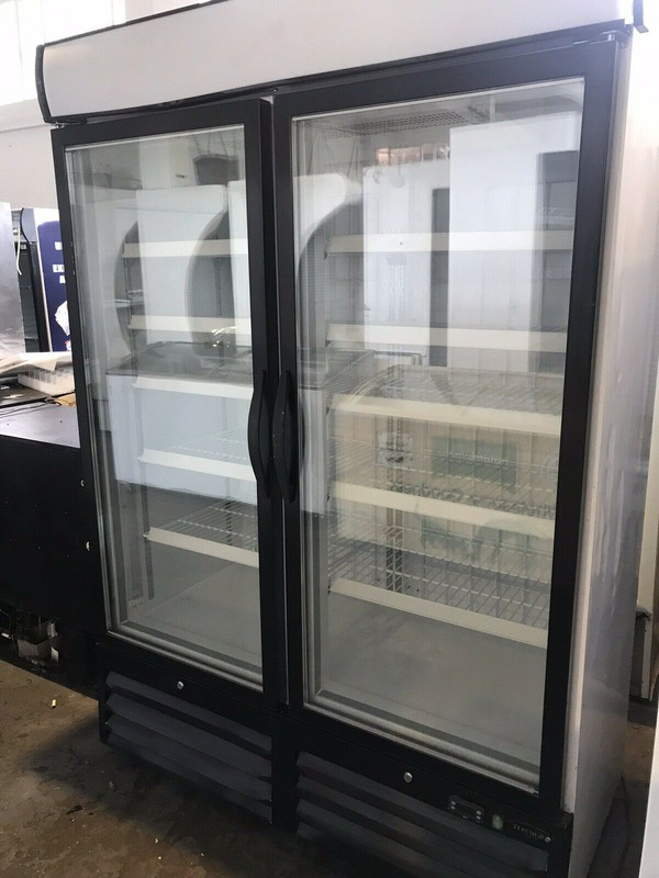 Tefcold NF5000G Glass Door Display Freezer- Bedford, Bedfordshire