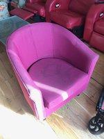 Second Hand Purple Tub Chair