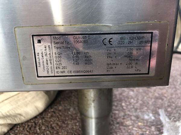 Ambatch 3 Basket Pasta Boiler Gas For Sale