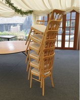 Cheltenham Natural Banqueting Chairs for sale