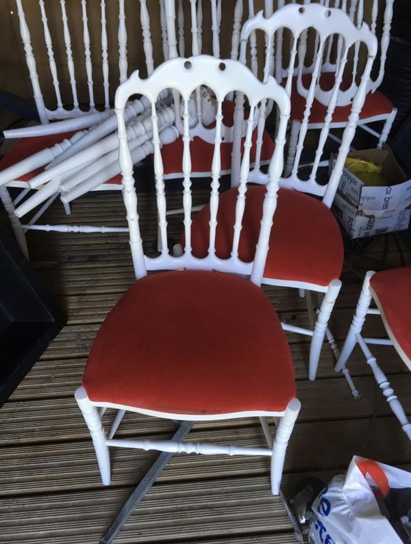 8x Modonutti Chairs And 4 Tables - Newhaven, Sussex