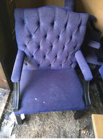 Second Hand Purple  Gainsbourgh Chairs