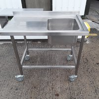 Used Stainless Steel Single Bowl Sink (10052) - Bridgwater, Somerset
