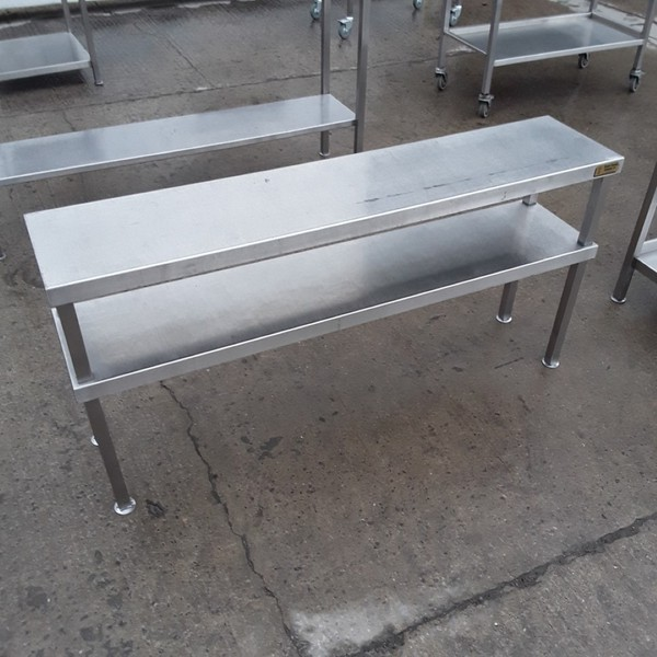 Used Stainless Steel Gantry Shelf Stand