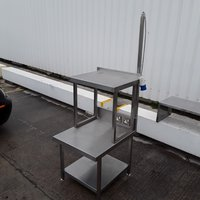 Used Stainless Steel Table Stand