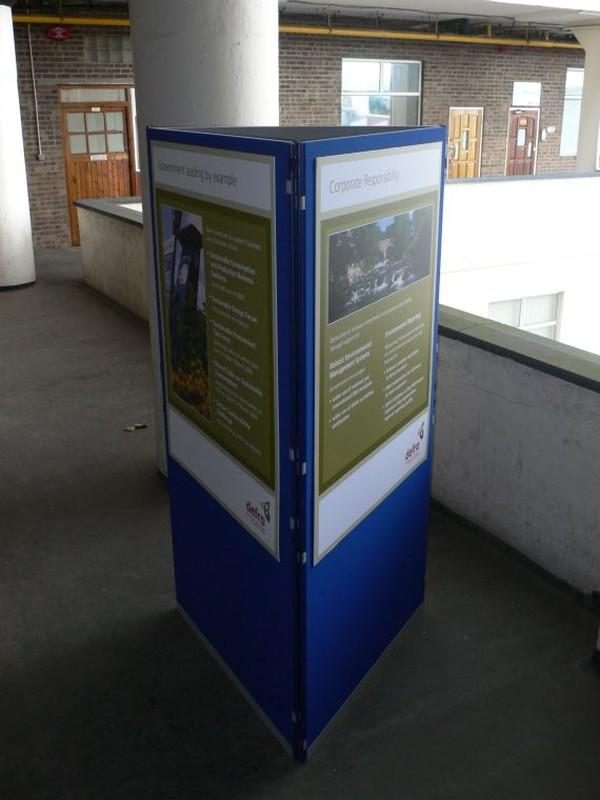 30m x Clip Modular Panel System for displays