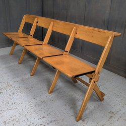 Four Seater Folding Benches Surrey