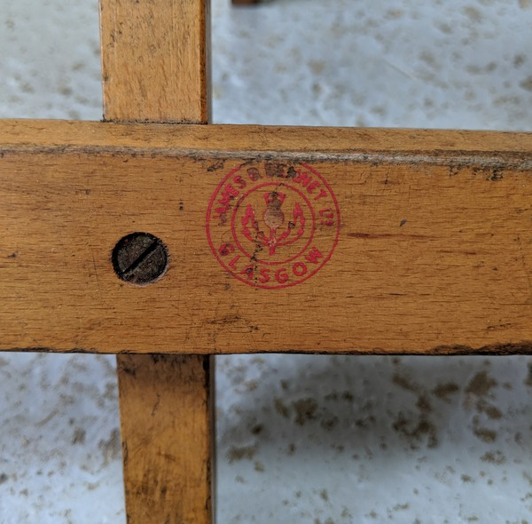 Folding Vintage Benches For Sale