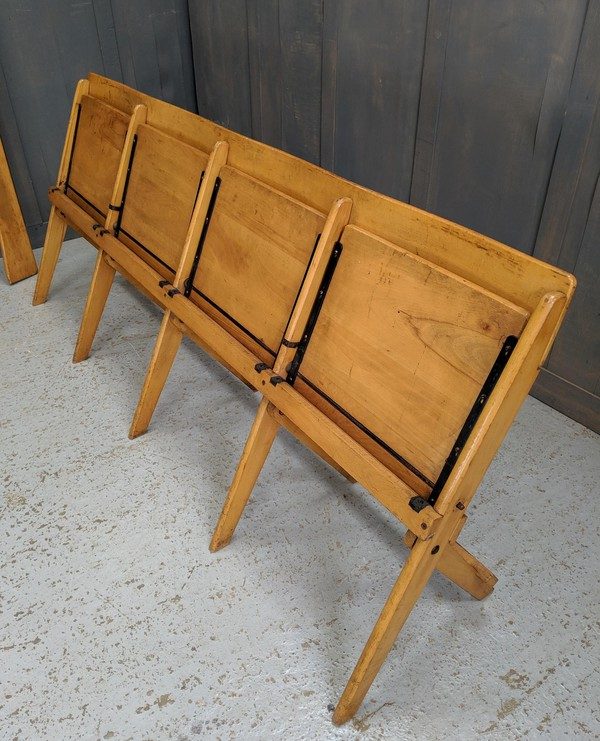 Used Four Seater Folding Benches