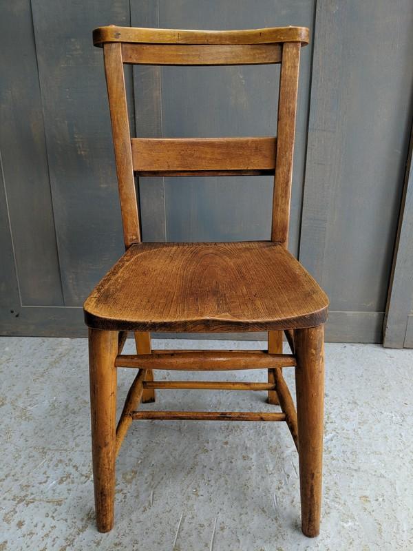 Circa 1920 Classic Church Chapel Chairs