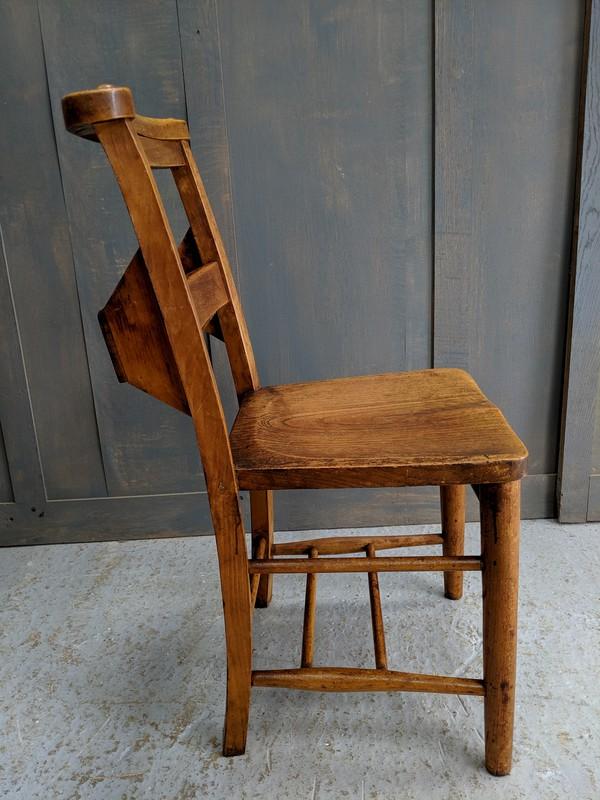 Elm & Beech Circa 1920 Classic Church Chapel Chairs