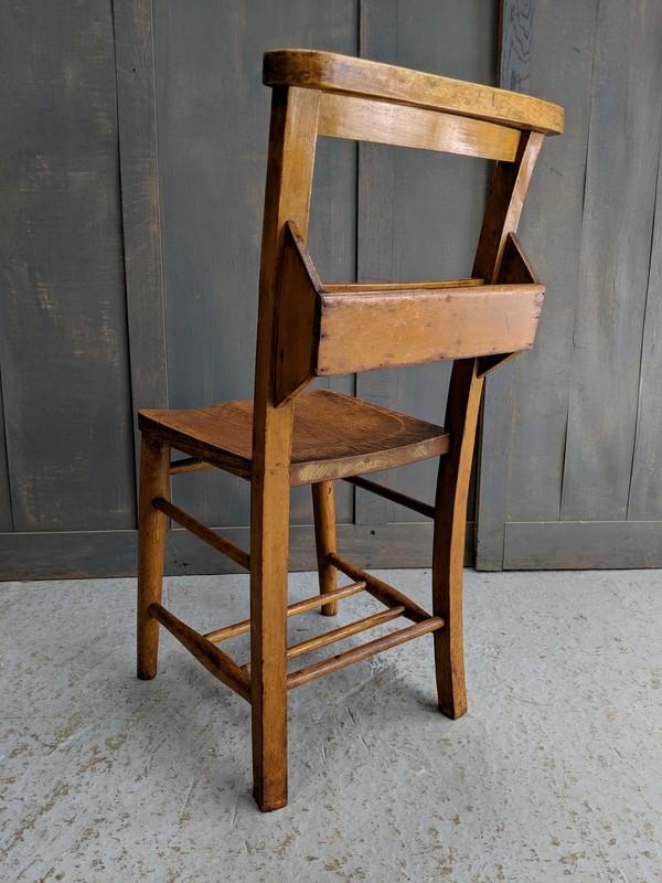 Circa 1920 Church Chapel Chairs For Sale