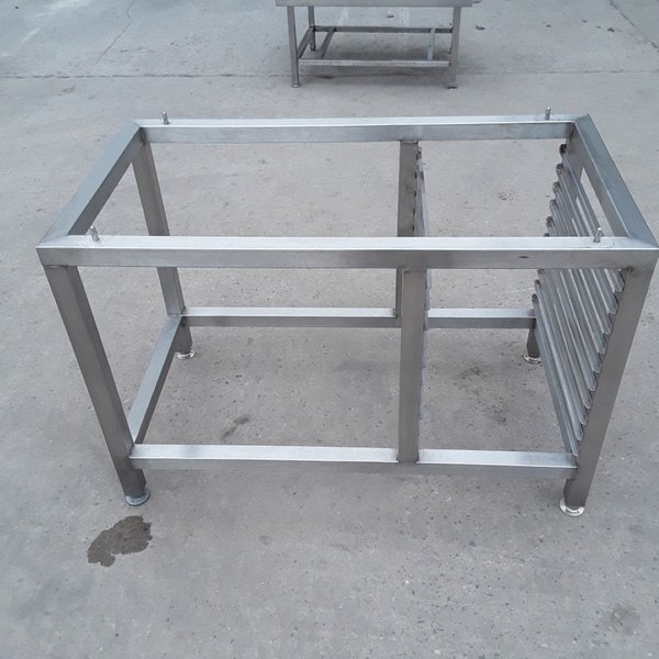 Used Stainless Steel Stand (10066) - Bridgwater, Somerset