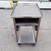 Used Stainless Steel Stand (10062) - Bridgwater, Somerset