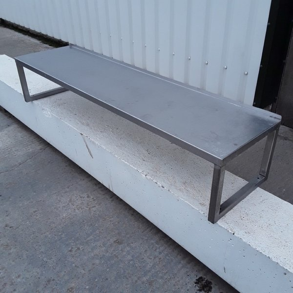 Used Stainless Steel Gantry Shelf (10061) - Bridgwater, Somerset