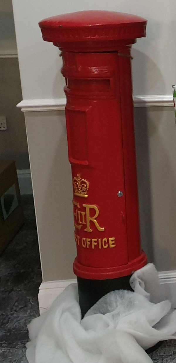 Second Hand Red Floorstanding Postbox For Sale