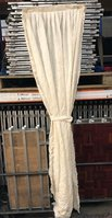 Ivory Pleated Window Drapes - Stroud, Gloucestershire