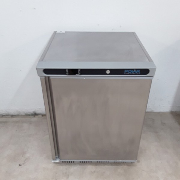 Polar CD081 Stainless Single Under Counter Freezer