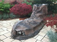 Giant Gullivers Travels Boot Prop