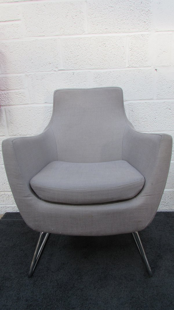 10x Grey Tub/Desk Chairs (CODE CH727) - Sussex