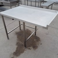 123cm Used Stainless Steel Table For Sale