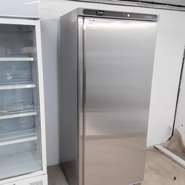 New B Grade Polar CD085 Stainless Single Upright Freezer