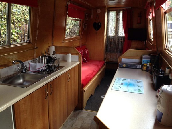 48 Foot Canal Boat
