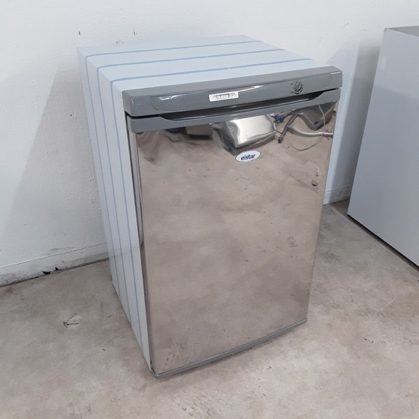 Elstar F140SS Stainless Single Under Counter Fridge