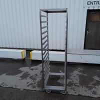 Used Stainless Bakery Trolley For Sale