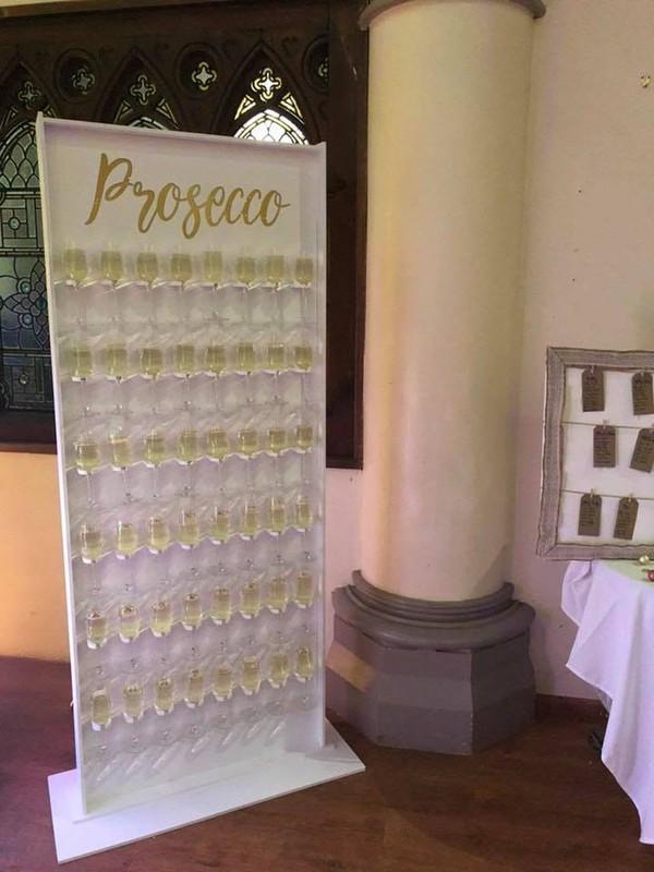 Wedding Prosecco Wall
