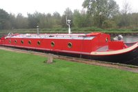 Liveaboard Widebeam Boat Built By Peter Nicholls 50ft x 11ft - Doncaster, South Yorkshire
